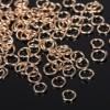 Кольцо соединительное 0,5*5мм (набор 50гр, ±1100 шт ) СМ-973, цвет золото (1515017)