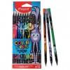 Цветные карандаши 12 цветов MAPED Color'Peps Black Monster, пластиковые (6495055)